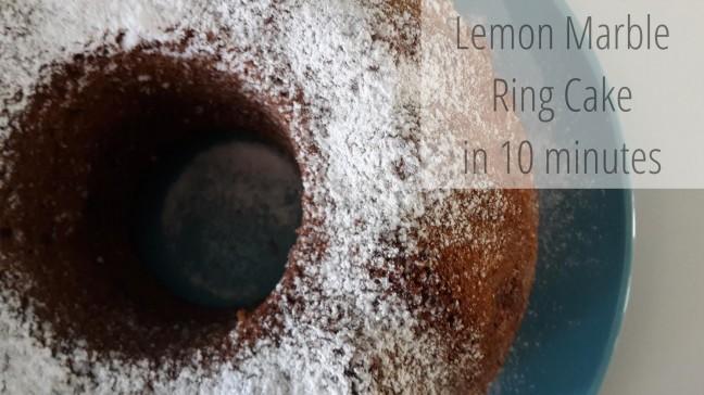 citromos-márványos kuglóf