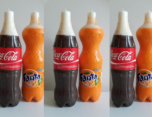 mitől világít a Coca Cola