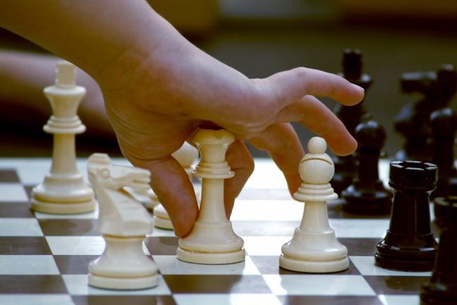 fekete-fehér, sakk-matt