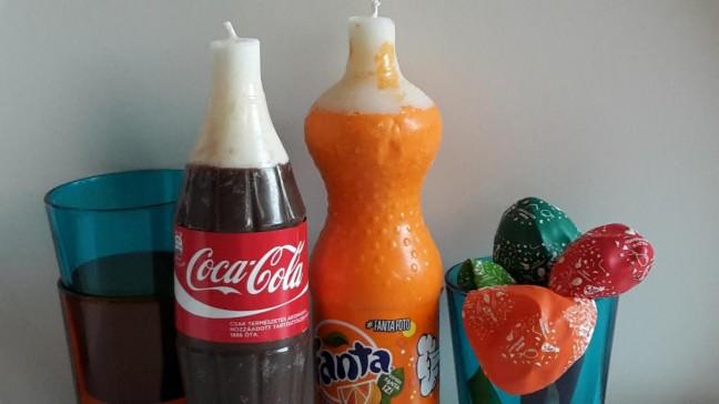 világít a Coca Cola