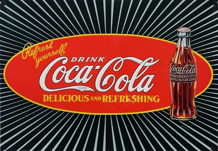 mitől világít a Coca-Cola