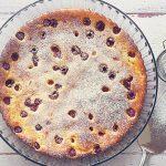 Habkönnyű gyümölcsös-túrós pite