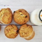 An Unordinary Pair: Zucchini-Cranberry Muffin