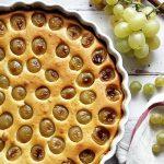 Tejfölös-túrós szőlős pite – 31. Blogkóstoló