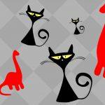 Last minute farsang: állatos fejdíszek (macska és dínó)