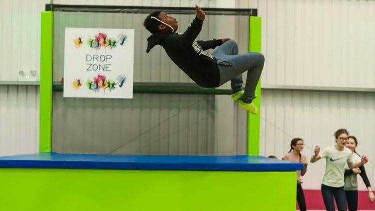 using trampolines