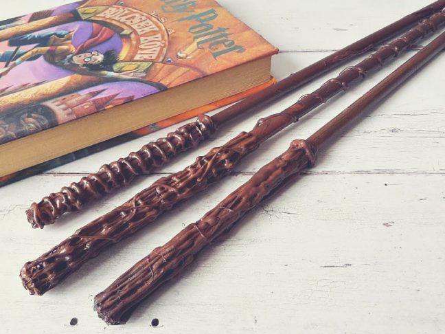 Harry Potter varázspálcát