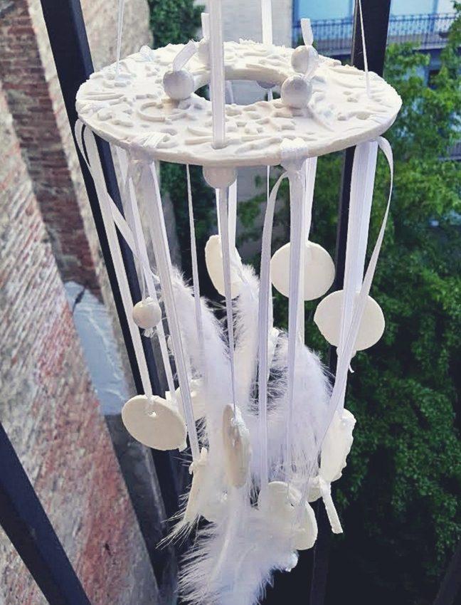 porcelángyurma szélcsengő
