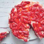 Epres mascarpone torta sütés nélkül