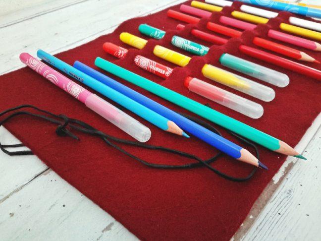 tolltartó filcből