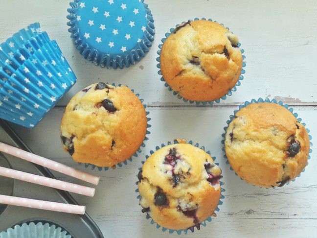 összedobálós muffin