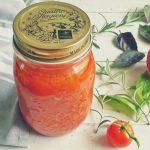 Egy kis Olaszország: fűszeres, sült paradicsomszósz