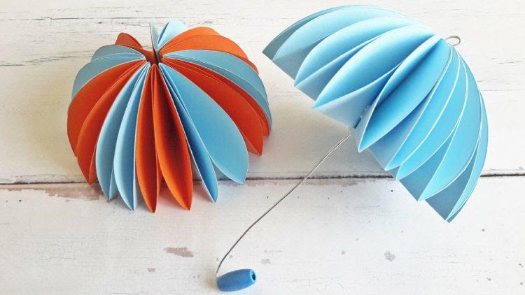 színes papír dekoráció