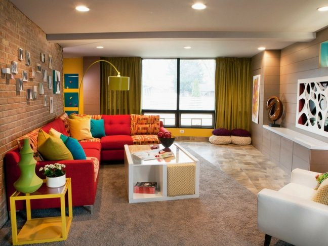 kid-friendly living room
