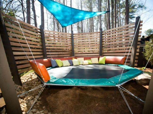 enjoyable backyard