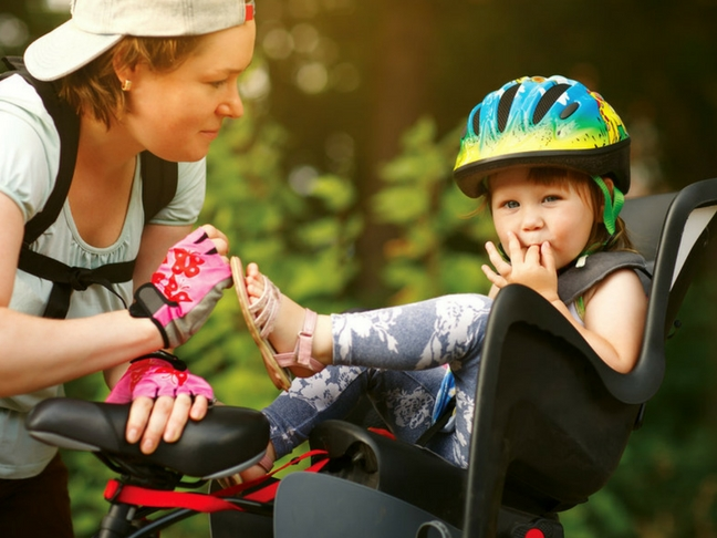 baby on your bike