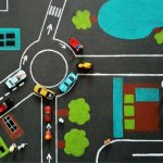 Autópályás szőnyeg EKO Játszószőnyegből (x)