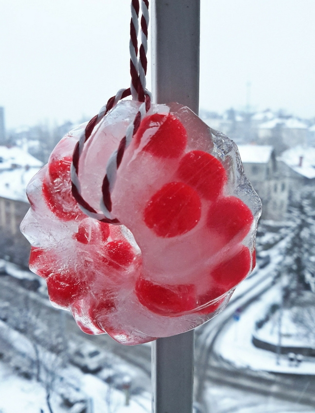 jégkoszorú házilag