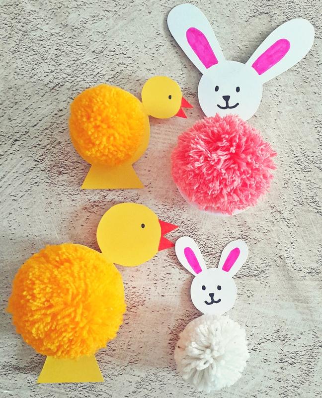 húsvéti pompon