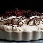 Édes mennyország: gyümölcsös Pavlova torta