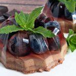 Gyümölcsös mini mousse torta sütés nélkül