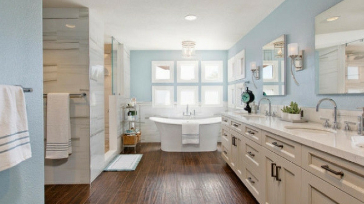 practical family bathroom