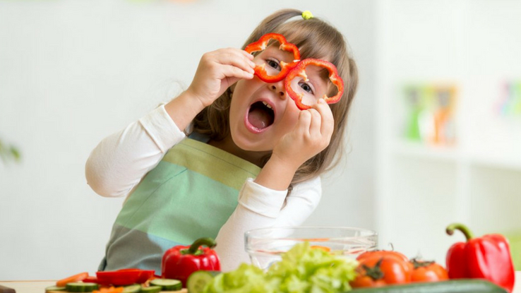 fruits and vegetables for kids