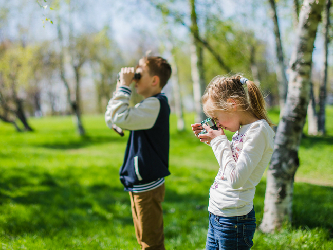 kids binoculars advantage