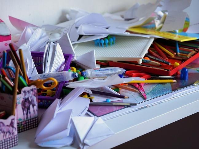 clutter's affect