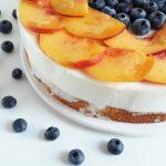 Sütött, hűtött gyümölcsös torta nyárutóra