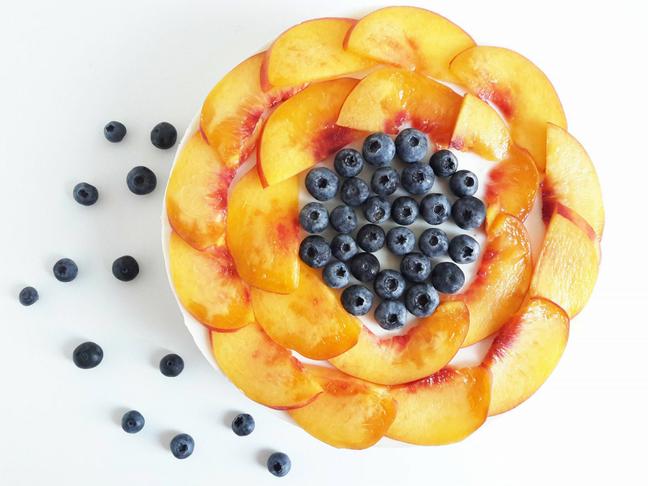 hűtött gyümölcstorta