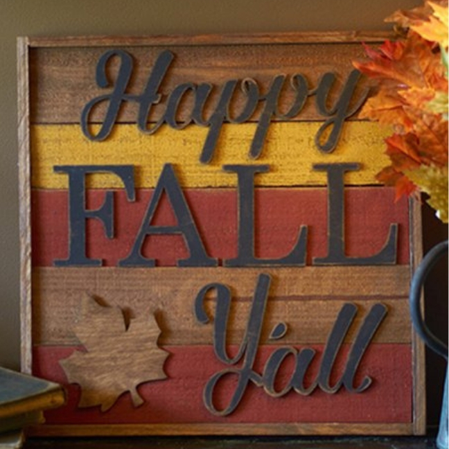 fall decor project