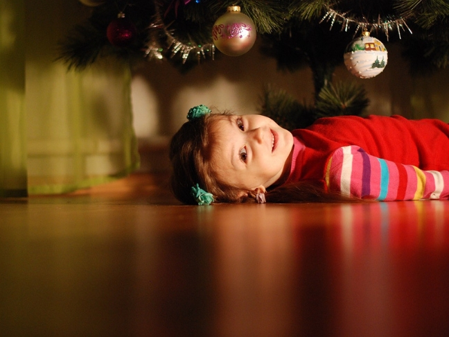 karácsony gyerekkel