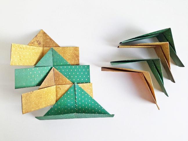 farsangi origami korona