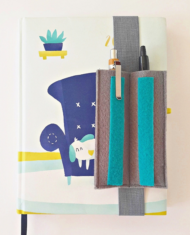 diy tolltartó tervezőnaptárhoz