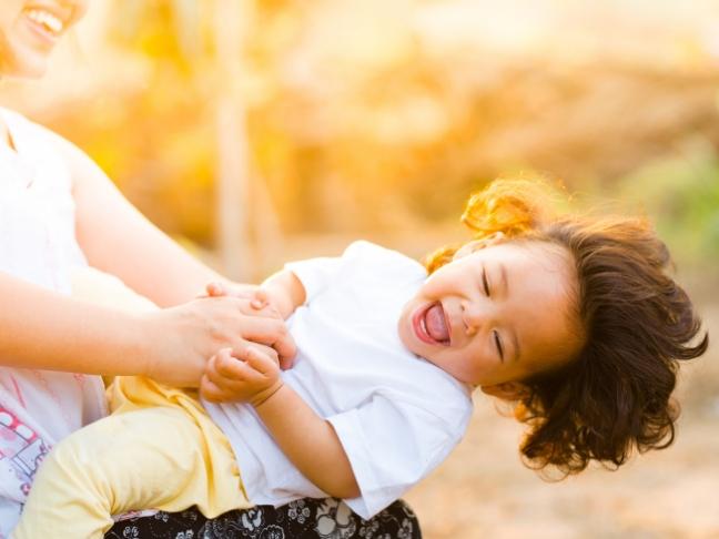 raising happy child