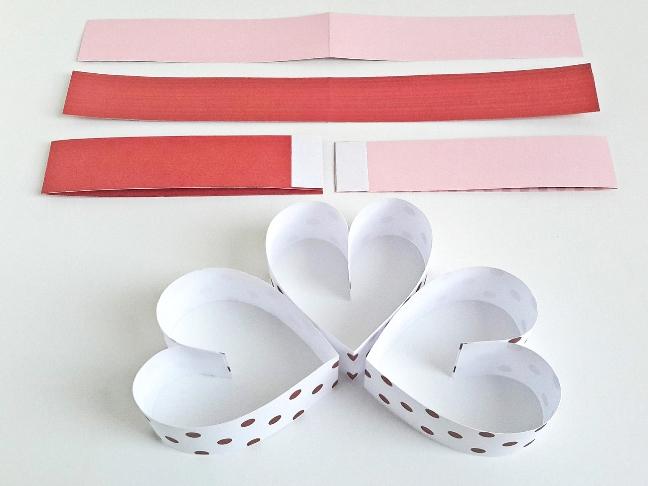 Valentin nap szívvel