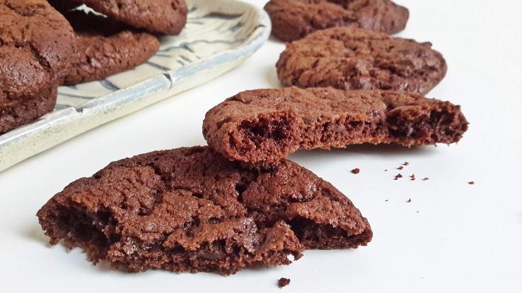 csokis brownie keksz