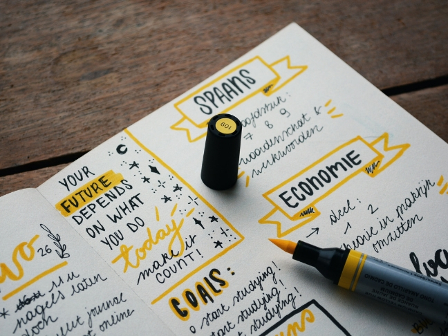 journal for business goals