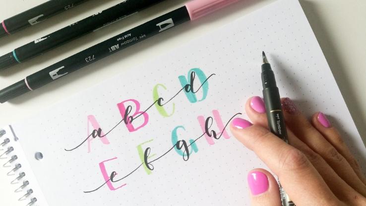 kalligráfia betűk hatalma