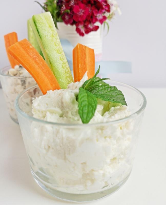 zöldfűszeres mártogatók recept