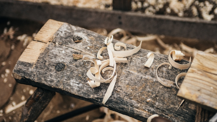 scroll woodworking for kids