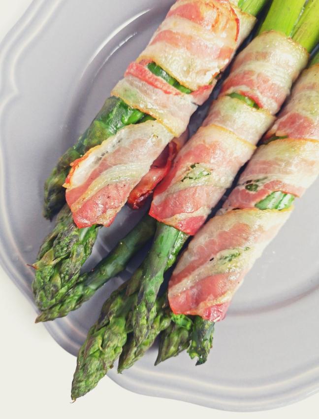 grillezett spárga recept