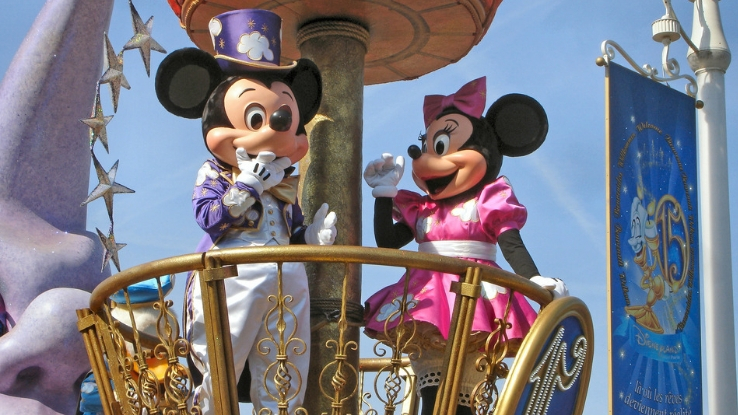 travel with kids to Disney World