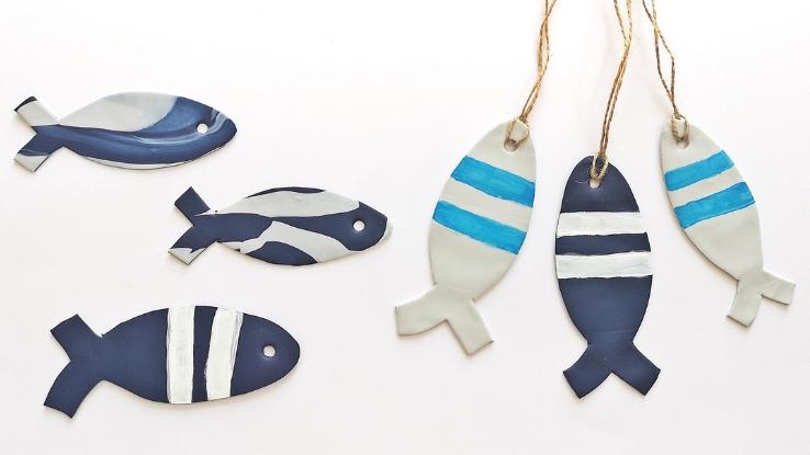halas nyári diy dekoráció