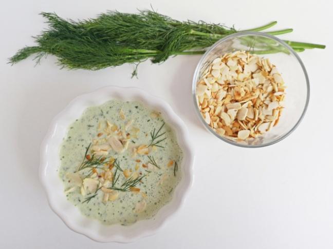 nyári recept hideg uborkaleves