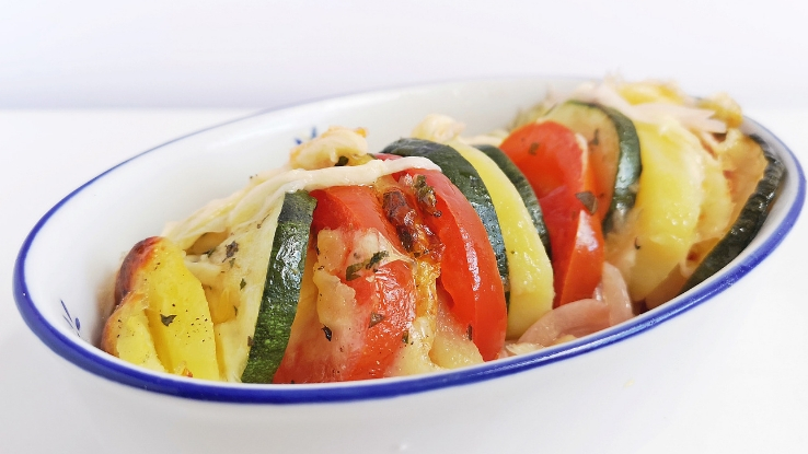 zöldfűszeres sült zöldségek recept
