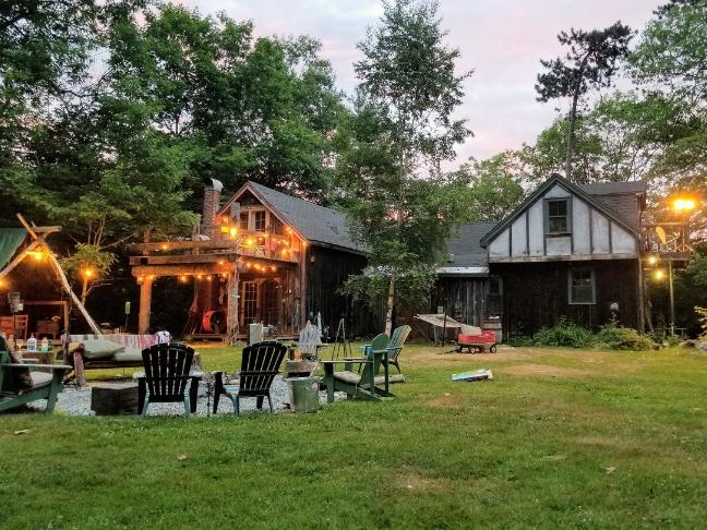 beautifying backyard