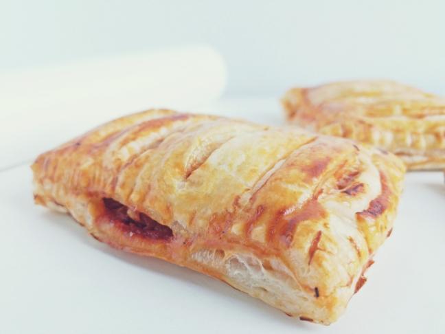 pizzás táska leveles tésztából recept