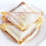 Meglepő fordulat – körtés édesség a szendvicssütőből